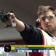 Pablo Carrera oro en pistola libre en la Copa del mundo de Munich