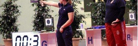Sonia Franquet 14ª en el Campeonato de Europa de aire comprimido 2018